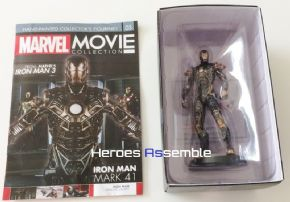 Marvel Movie Collection Subscriber Special #3 Iron Man Mark XLI Figurine Eaglemoss Publications